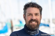 Kayaker Cyril Derreumaux in Sausalito, CA, on February 25 2021.France-born American entrepreneur Cyril Derreumaux (44) will leave at the end of May 2021 for a 70-day solo and unsupported sea kayak Pacific crossing from California to Hawaii.