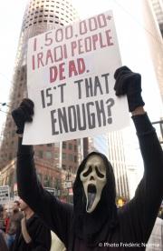 Anti-war protest in San Francisco